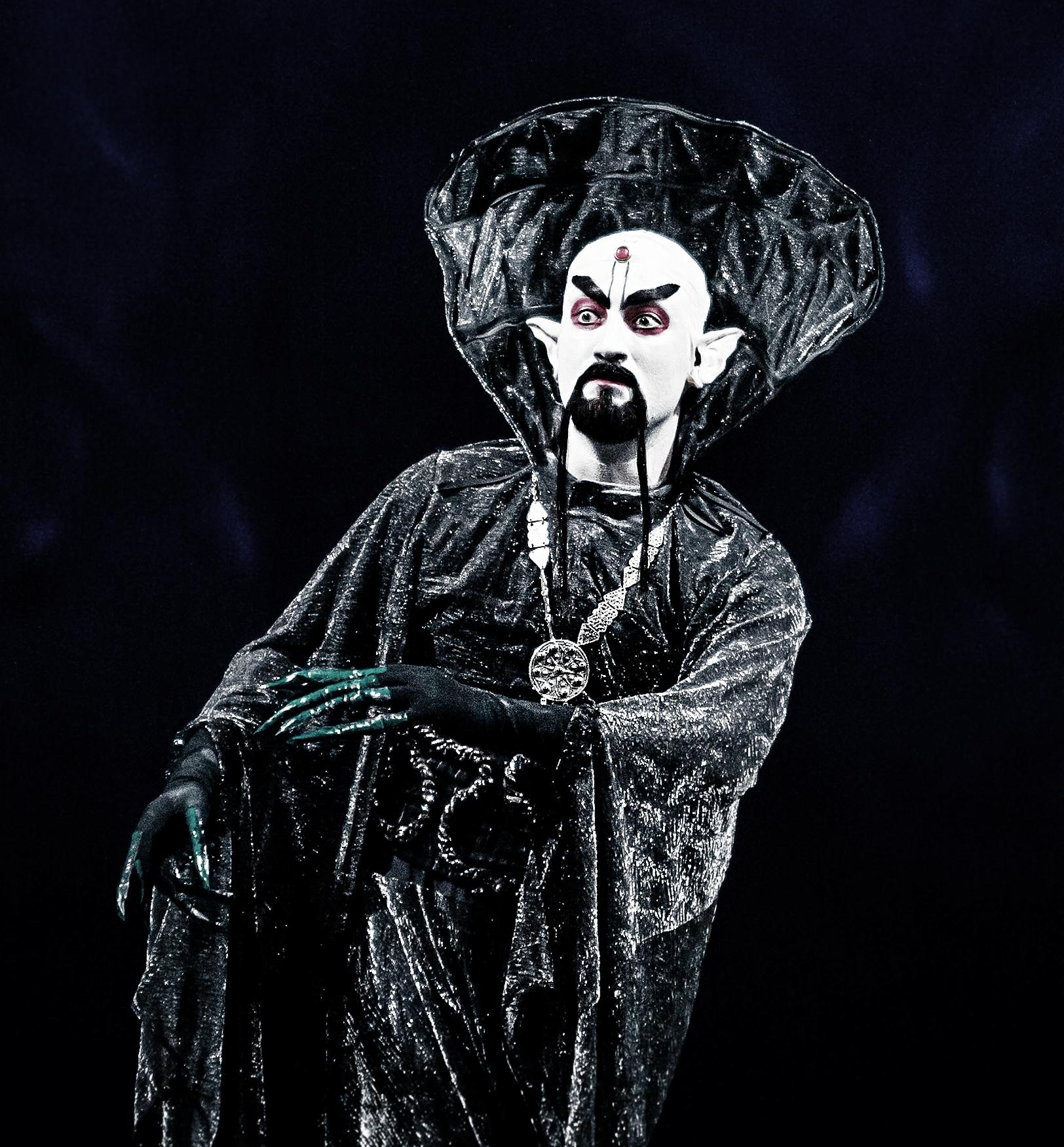 Andrea Sirianni - il mago Katscheij ne L'Uccello di Fuoco